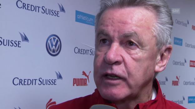Video «Fussball: Hitzfeld im Interview» abspielen