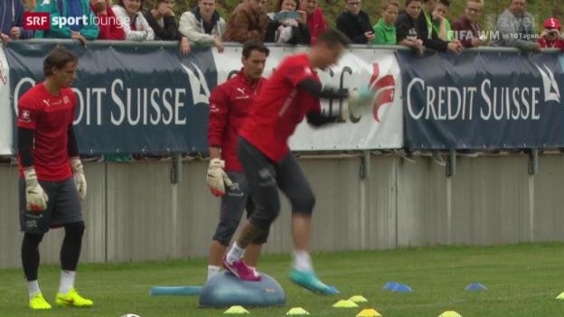 Video «Nati-Goalies – wie speziell Benaglio, Sommer und Bürki ticken» abspielen