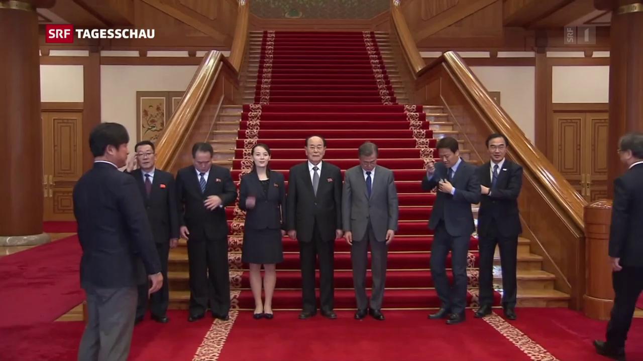 Kim Jong Un lädt Südkoreas Präsident zu sich ein