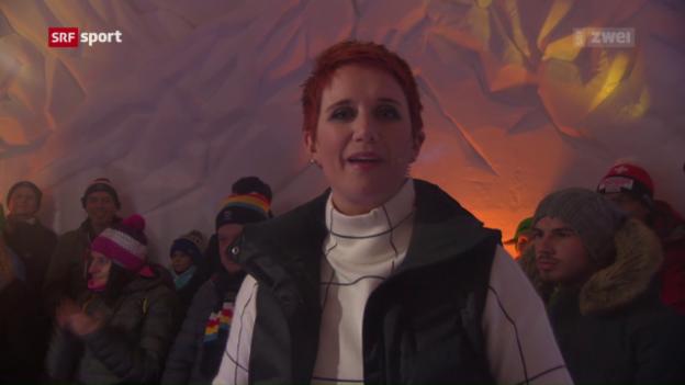 Video «Maria Walliser trifft auf Frölein Da Capo» abspielen