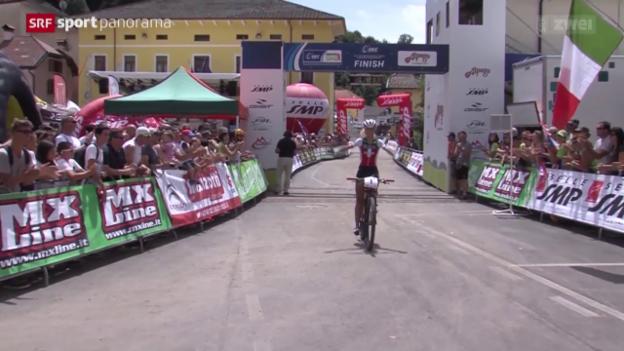Video «Mountainbike: EM in Alpago, Crosscountry» abspielen