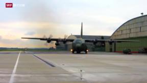 Video «Transportflugzeuge für Schweizer Armee» abspielen