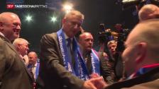 Video «Kopf-an-Kopf-Rennen in Kroatien» abspielen