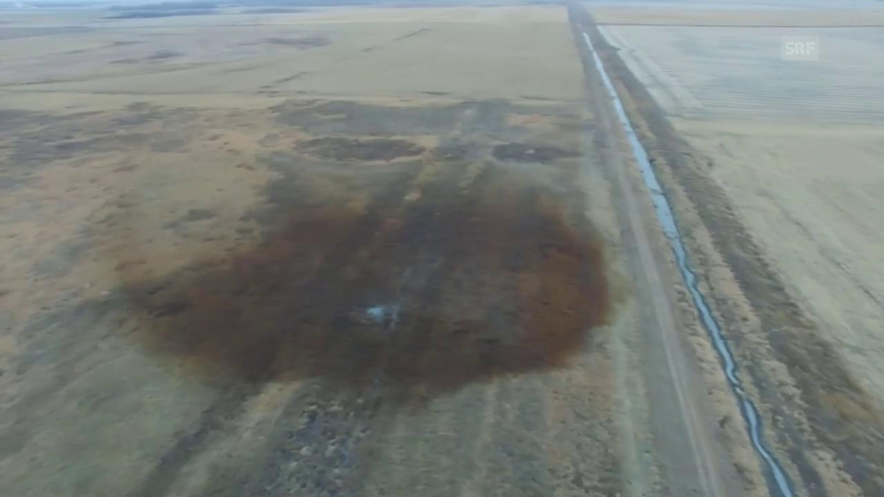 Schäden durch Pipeline-Leck