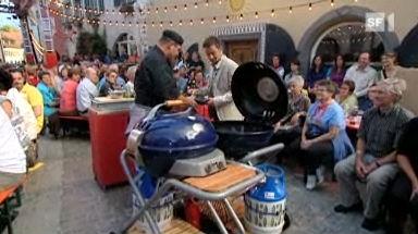 Video «Grillieren mit dem Gasgrill» abspielen