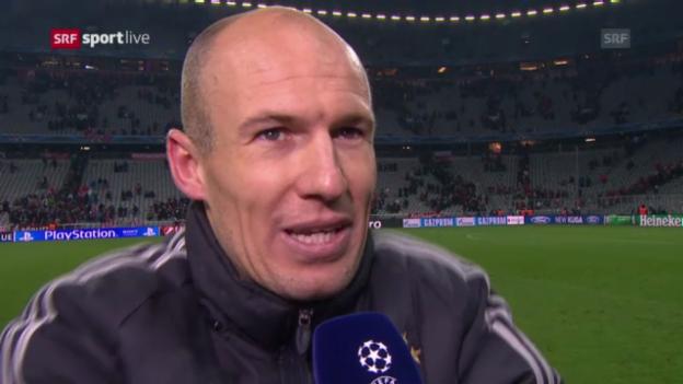 Video «Fussball: Interview mit Arjen Robben («sportlive»)» abspielen