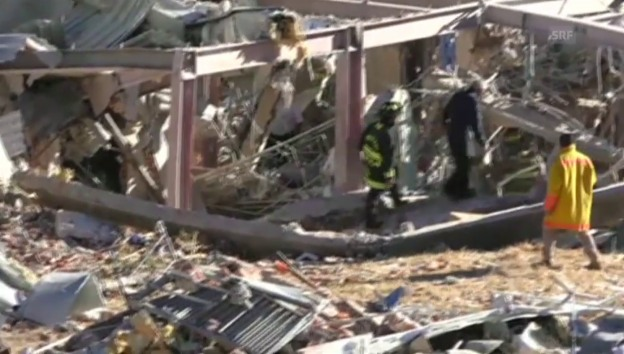 Video «Verheerdende Gasexplosion in Mexiko. (unkomm.)» abspielen