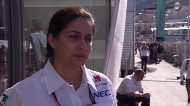 Video «Formel 1: Teamchefin Monisha Kaltenborn über die Sauber-Krise» abspielen