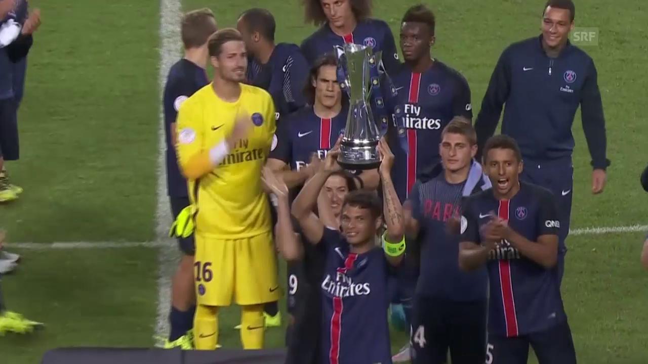 Fussball: PSG gewinnt International Champions Cup nach 2:0-Sieg über ManUnited (Quelle: SNTV)