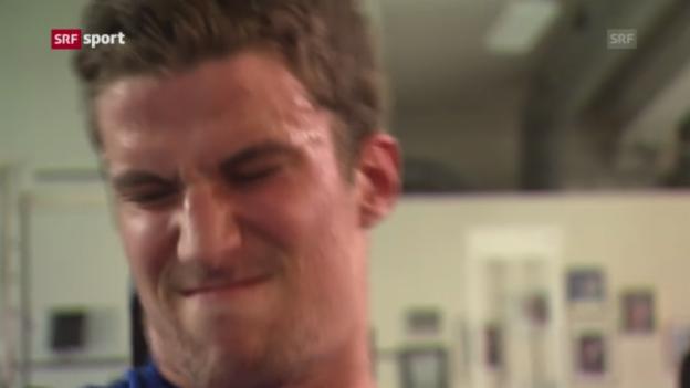 Video «Eishockey: Die Schweizer NHL-Stars im Sommertraining («sportpanorama»)» abspielen