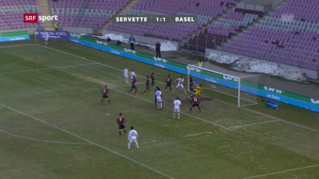 Fussball: Servette - Basel («sportpanorama»)