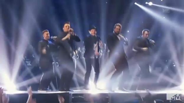 Video «Auftritt von Justin Timberlake mit 'N Sync» abspielen