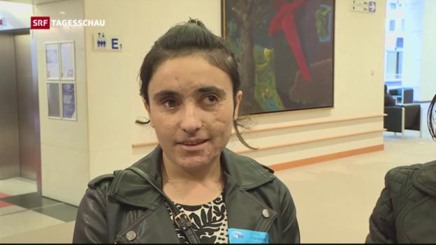Video «Sacharow-Preis geht an ehemalige IS-Gefangene» abspielen