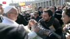 Video «Amtseinführung von Papst Franziskus» abspielen