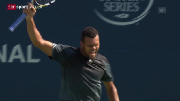 Video «Tennis: ATP Toronto, Halbfinal Tsonga - Dimitrov» abspielen