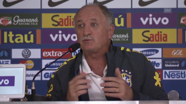 Video «WM 2014: Brasilien versucht sich vom Schock zu erholen» abspielen