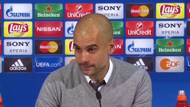 Video «Guardiola über das Ausscheiden» abspielen