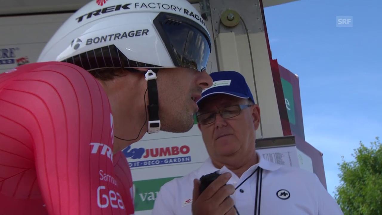 Rad: Tour de Suisse 2015, Prolog-Zeitfahren, Fabian Cancellara