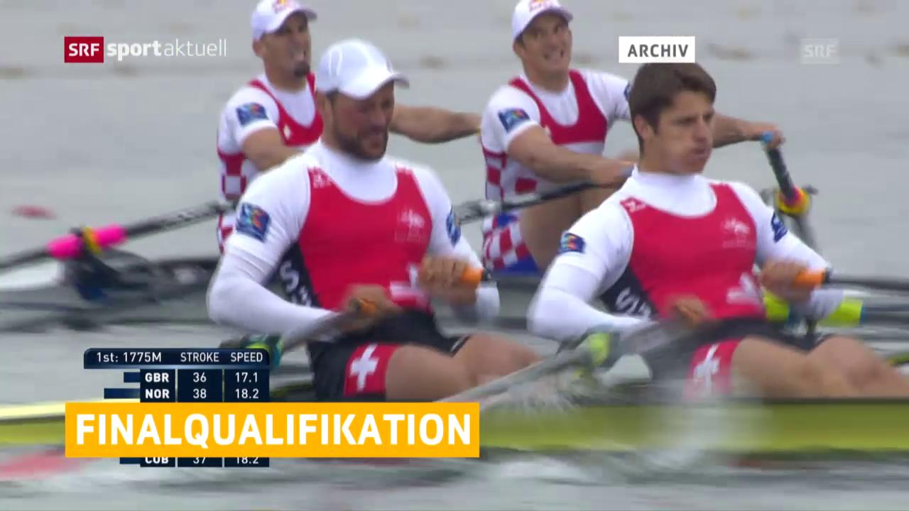 Stahlberg/Röösli für A-Final qualifiziert