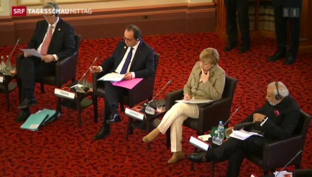 Video «G20-Gipfel im Bann der Ukraine-Krise» abspielen