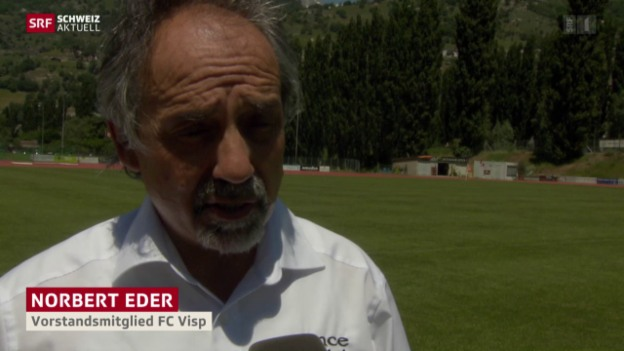 Video «Rückhalt für Blatter in Visp» abspielen