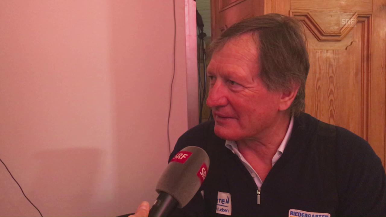 Interview mit Franz Klammer