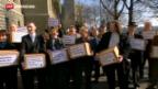 Video «Abstimmungskampf gegen Abzocker-Initiative lanciert» abspielen