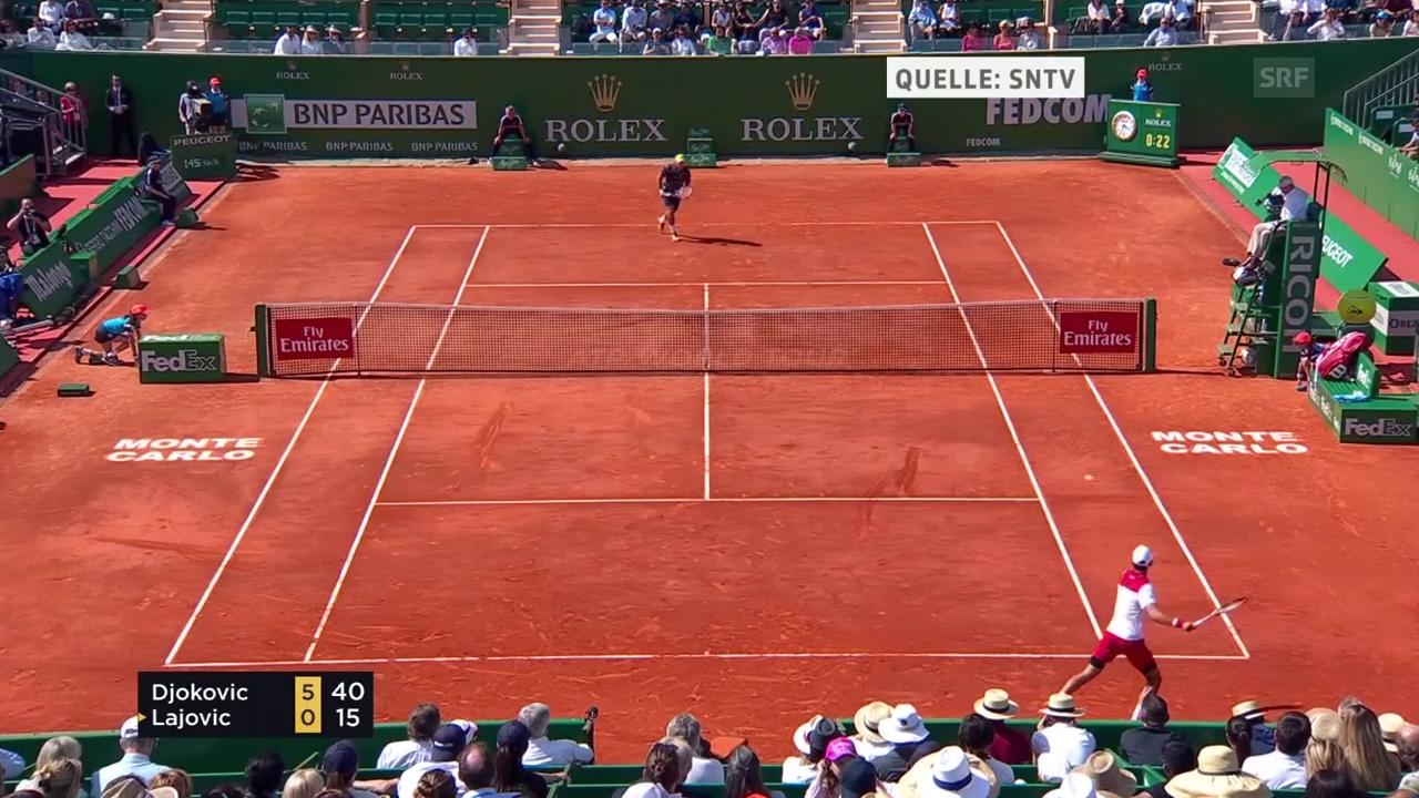 Djokovic macht kurzen Prozess