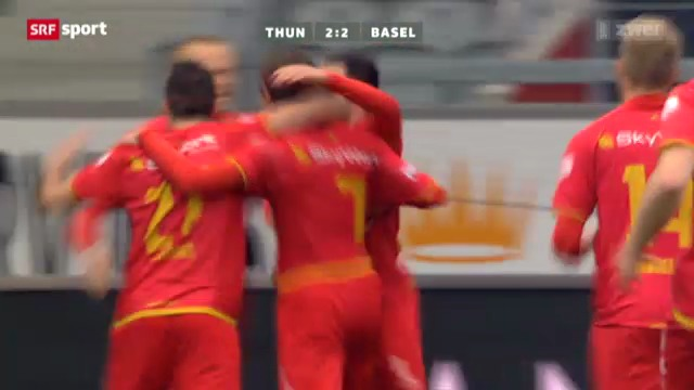 Fussball: Zuffis Tor gegen Basel