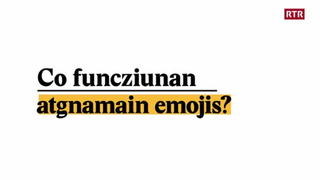 Laschar ir video «Explainer: Co funcziunan atgnamain emojis?»