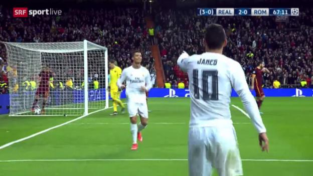 Video «Real - Roma: Die Live-Highlights» abspielen