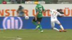 Video «Fussball: SL, St. Gallen - Luzern» abspielen