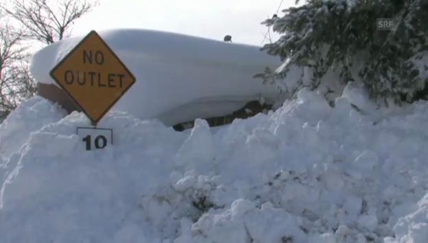 Video «Schneesturm USA» abspielen