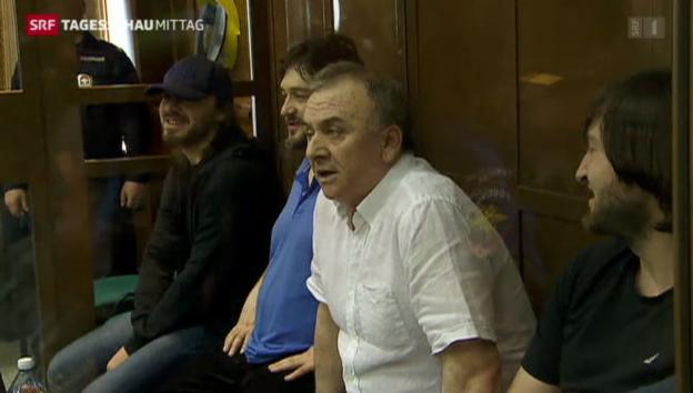 Video «Lebenslang für Politkowskaja-Mörder» abspielen