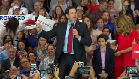 Video «Rubio: «Unsere Kampagne konnte Trump demaskieren» (englisch)» abspielen