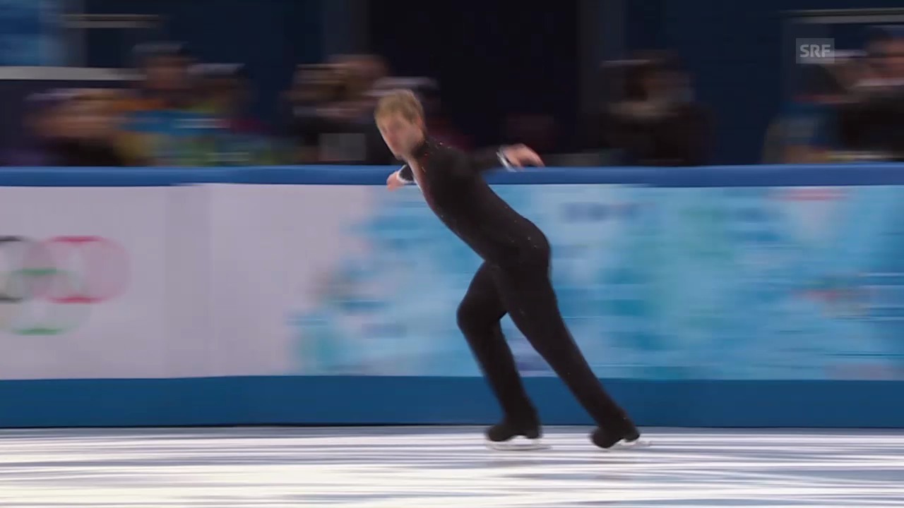 Sotschi: Eiskunstlaufen, Team-Wettbewerb, Kurzprogramm Pluschenko