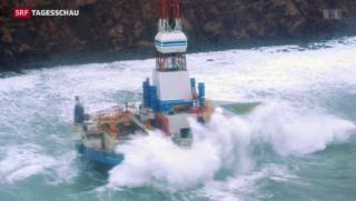 Video «Umweltorganisationen protestieren gegen Ölbohrungen in Alaska» abspielen