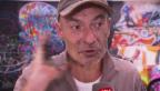 Video «Franck Bouroullec: Mit Hochgeschwindigkeit auf die Leinwand» abspielen