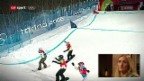 Video «Gold-Plämpu! Tanja Friedens Ride zu Olympia-Gold» abspielen