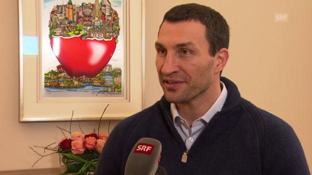 Video «Klitschko über seine ersten Eindrücke» abspielen