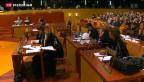 Video «Grünes Licht für Verhandlungen mit der EU» abspielen