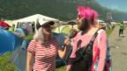 Video «Tina Nägeli übergibt (zum ersten Mal) den «Goldenen Gummistiefel»» abspielen