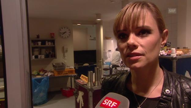 Video «Francine Jordi: Über Kehrseiten und wer sie wirklich ist» abspielen