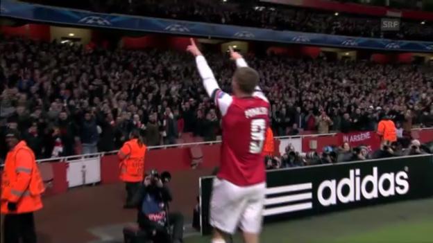 Video «Podolskis Traumtor gegen Montpellier» abspielen