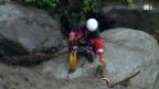 Video «Als die Schweiz den Atem anhielt - das Canyoning-Drama im Saxetbach» abspielen