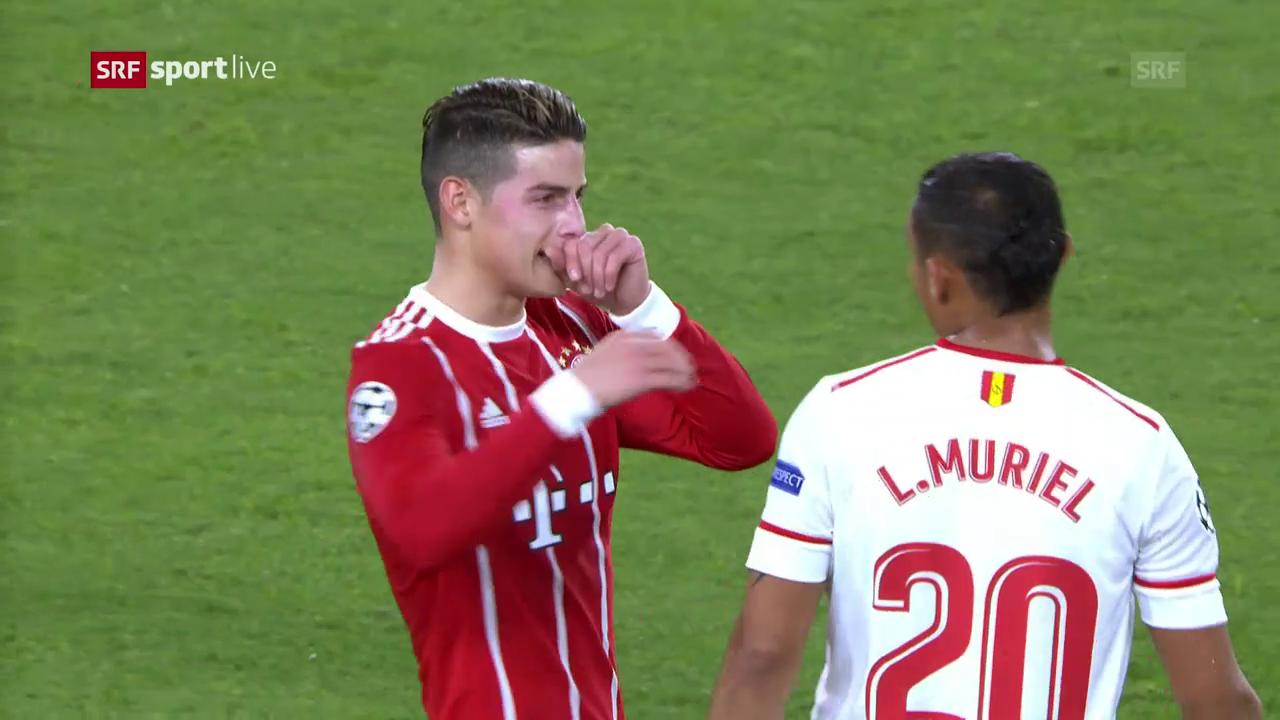 Bayern feiert Auswärtssieg in Sevilla