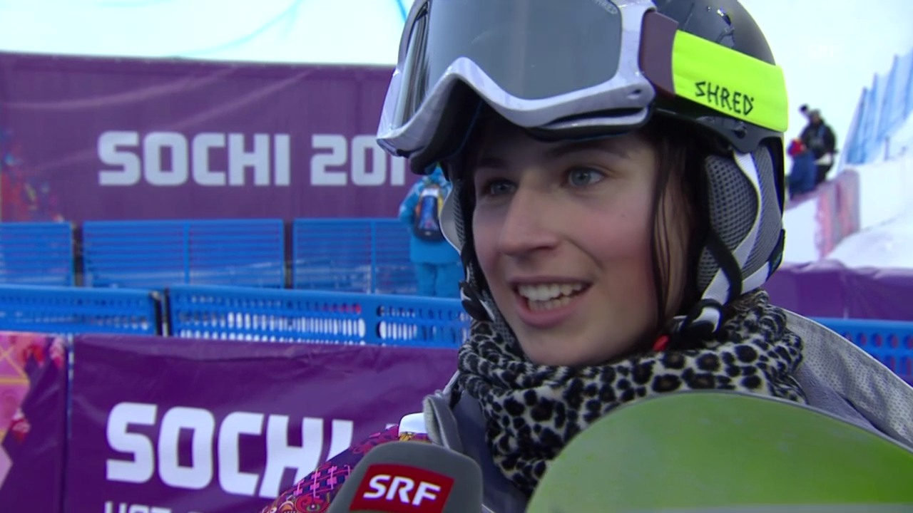 Snowboard Halfpipe: Interview mit Verena Rohrer (sotschi direkt, 12.02.2014)
