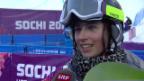 Video «Snowboard Halfpipe: Interview mit Verena Rohrer (sotschi direkt, 12.02.2014)» abspielen