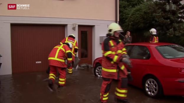 Video «Feuerwehr im Dauereinsatz» abspielen