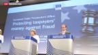 Video «EU: Kampf dem Subventionsbetrug» abspielen